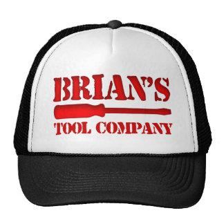 Brian's Tool Company Trucker Hats