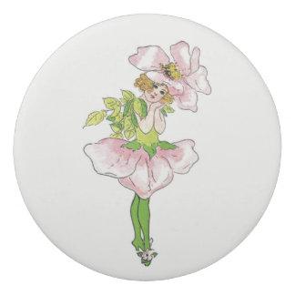 Briar Rose Vintage Cute Flower Child Girl Floral Eraser