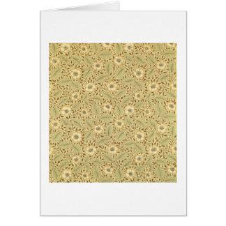 'Briar Rose' wallpaper design Card
