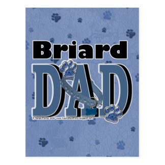 Briard DAD Postcard