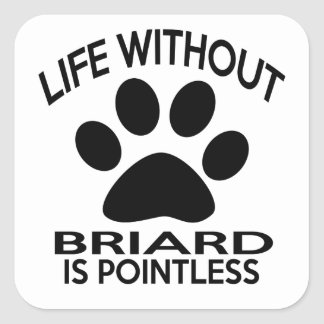 BRIARD DESIGNS SQUARE STICKER