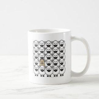 Briard in the Sheep Coffee Mug