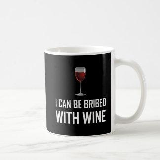 Bribed With Wine Coffee Mug