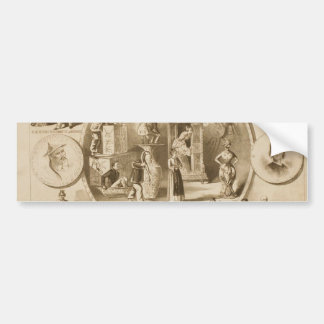 Bric -A- Brac, 'Padgett & Bassett's' Vintage Theat Bumper Sticker
