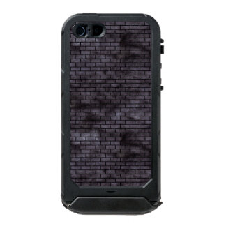 BRICK1 BLACK MARBLE & BLACK WATERCOLOR (R) INCIPIO ATLAS ID™ iPhone 5 CASE