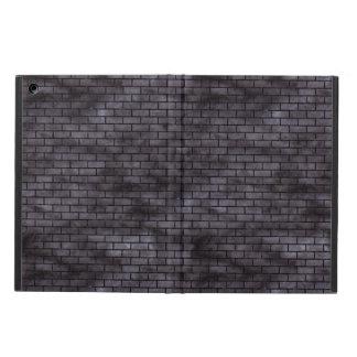 BRICK1 BLACK MARBLE & BLACK WATERCOLOR (R) iPad AIR CASE