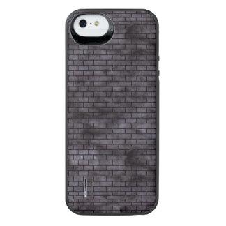 BRICK1 BLACK MARBLE & BLACK WATERCOLOR (R) iPhone SE/5/5s BATTERY CASE