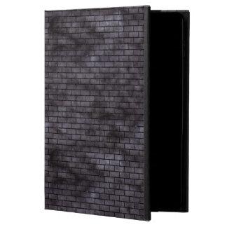BRICK1 BLACK MARBLE & BLACK WATERCOLOR (R) POWIS iPad AIR 2 CASE