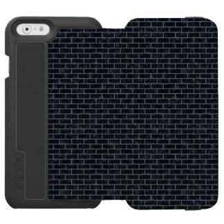 BRICK1 BLACK MARBLE & BLUE DENIM INCIPIO WATSON™ iPhone 6 WALLET CASE