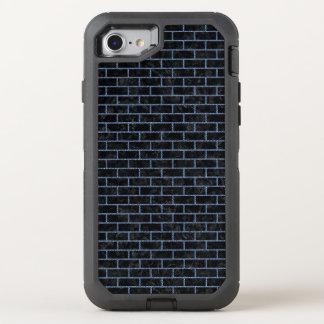 BRICK1 BLACK MARBLE & BLUE DENIM OtterBox DEFENDER iPhone 8/7 CASE