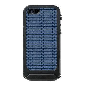 BRICK1 BLACK MARBLE & BLUE DENIM (R) INCIPIO ATLAS ID™ iPhone 5 CASE