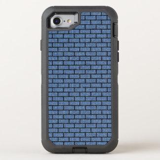 BRICK1 BLACK MARBLE & BLUE DENIM (R) OtterBox DEFENDER iPhone 8/7 CASE