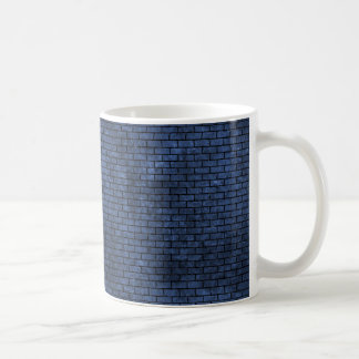 BRICK1 BLACK MARBLE & BLUE STONE (R) COFFEE MUG