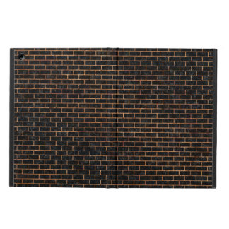 BRICK1 BLACK MARBLE & BROWN STONE iPad AIR COVER