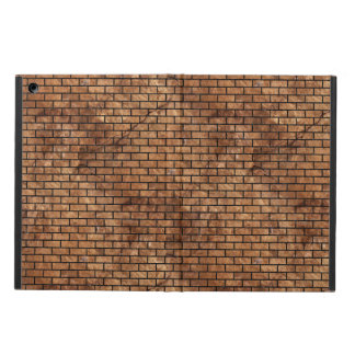 BRICK1 BLACK MARBLE & BROWN STONE (R) CASE FOR iPad AIR
