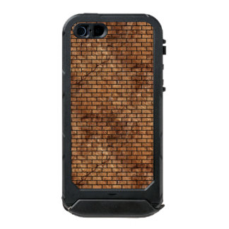 BRICK1 BLACK MARBLE & BROWN STONE (R) INCIPIO ATLAS ID™ iPhone 5 CASE