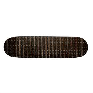 BRICK1 BLACK MARBLE & BROWN STONE SKATE DECK