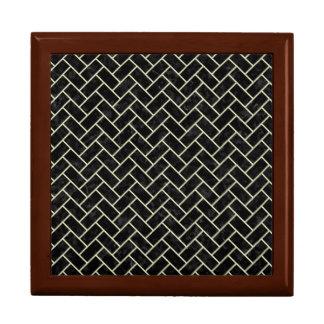 BRICK2 BLACK MARBLE & BEIGE LINEN GIFT BOX