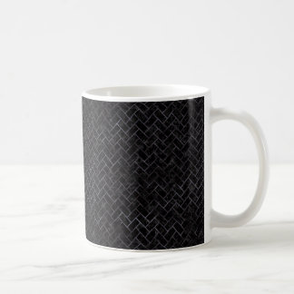 BRICK2 BLACK MARBLE & BLACK WATERCOLOR COFFEE MUG