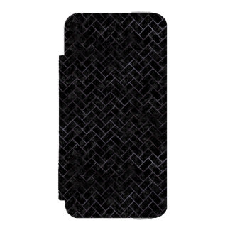 BRICK2 BLACK MARBLE & BLACK WATERCOLOR INCIPIO WATSON™ iPhone 5 WALLET CASE