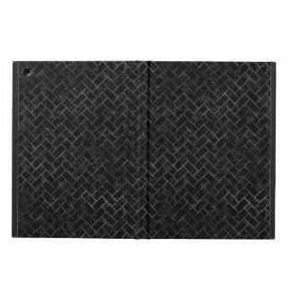 BRICK2 BLACK MARBLE & BLACK WATERCOLOR iPad AIR CASE