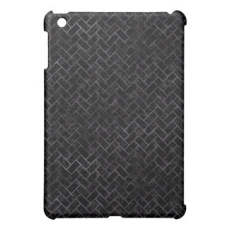 BRICK2 BLACK MARBLE & BLACK WATERCOLOR iPad MINI COVER