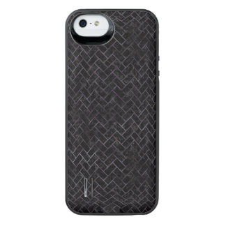 BRICK2 BLACK MARBLE & BLACK WATERCOLOR iPhone SE/5/5s BATTERY CASE
