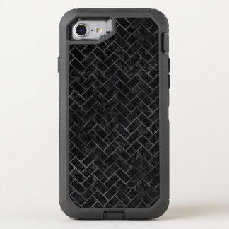 BRICK2 BLACK MARBLE & BLACK WATERCOLOR OtterBox DEFENDER iPhone 8/7 CASE