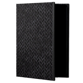 BRICK2 BLACK MARBLE & BLACK WATERCOLOR POWIS iPad AIR 2 CASE