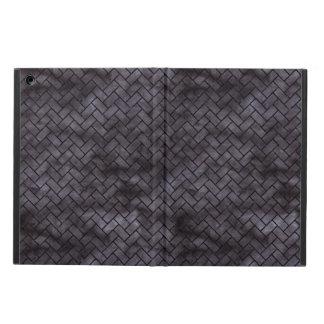 BRICK2 BLACK MARBLE & BLACK WATERCOLOR (R) COVER FOR iPad AIR