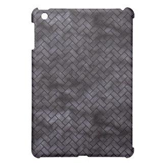BRICK2 BLACK MARBLE & BLACK WATERCOLOR (R) iPad MINI CASE