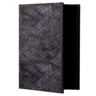 BRICK2 BLACK MARBLE & BLACK WATERCOLOR (R) POWIS iPad AIR 2 CASE