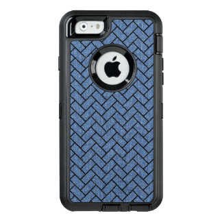 BRICK2 BLACK MARBLE & BLUE DENIM (R) OtterBox DEFENDER iPhone CASE