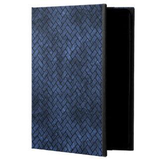 BRICK2 BLACK MARBLE & BLUE STONE (R) POWIS iPad AIR 2 CASE