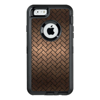 BRICK2 BLACK MARBLE & BRONZE METAL (R) OtterBox DEFENDER iPhone CASE