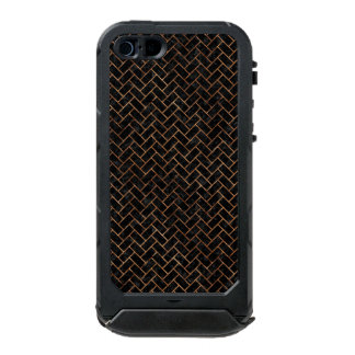 BRICK2 BLACK MARBLE & BROWN STONE INCIPIO ATLAS ID™ iPhone 5 CASE