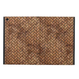 BRICK2 BLACK MARBLE & BROWN STONE (R) CASE FOR iPad AIR