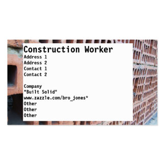 Brick and Mortar Double-Sided Standard Business Cards (Pack Of 100)
