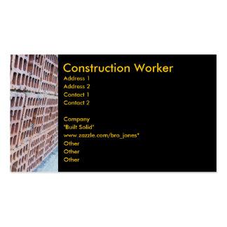 Brick and Mortar Business Card Templates