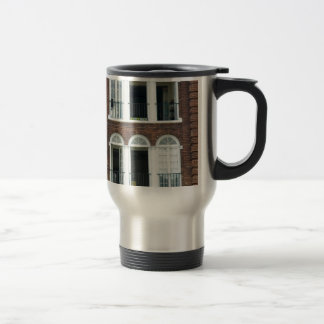 Brick Apartments Stainless Steel Travel Mug