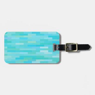 Brick Background Luggage Tag