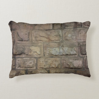 """Brick Brushed Polyester Accent Pillow 16"""" x 12"""""""