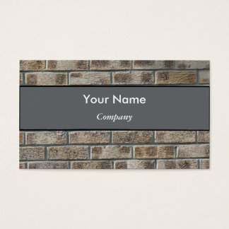 Brick Business Card