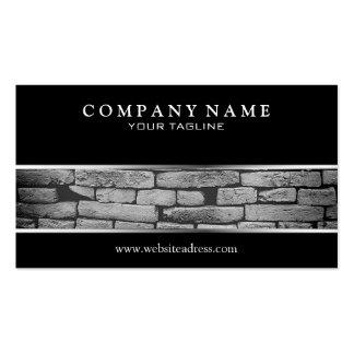 Brick Business Card Standard Business Cards