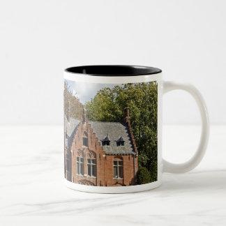 Brick church on Minnewater Two-Tone Mug