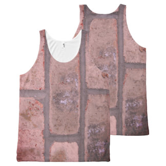 Brick-colored tank top