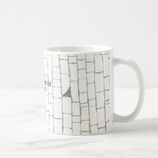 Brick Cup Basic White Mug