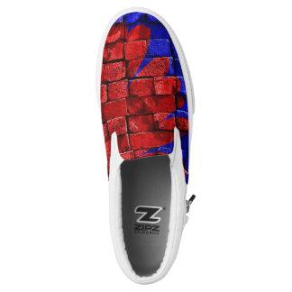 Brick flower Slip-On shoes