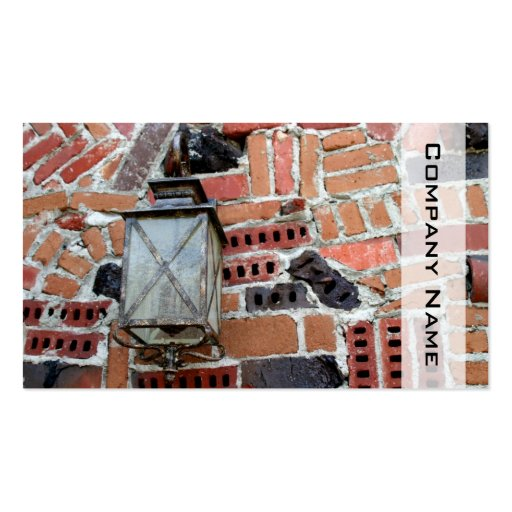 Brick Light Business Card Templates
