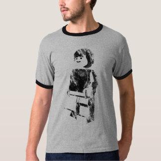 Brick man stencil T-Shirt